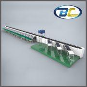 straight cross belt sorting system (1)
