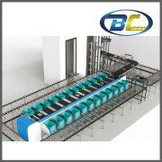 straight cross belt sorting system (2)